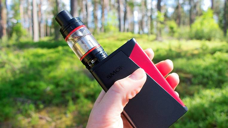 In Kamchatka, minors banned vapes