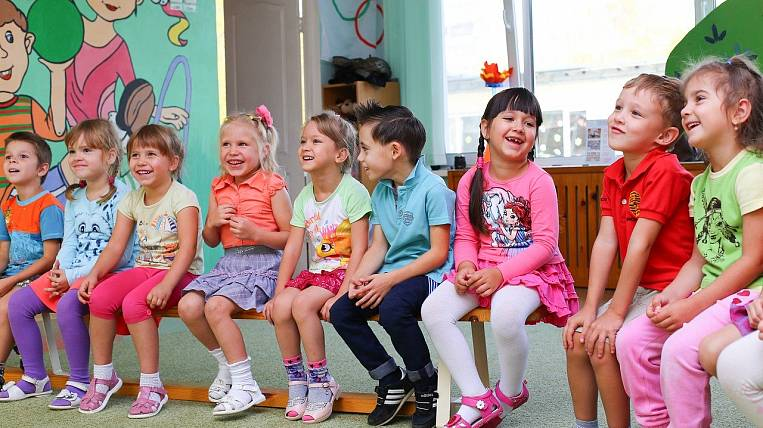 Duty gardens will accept children at the presidential weekend in Yakutia