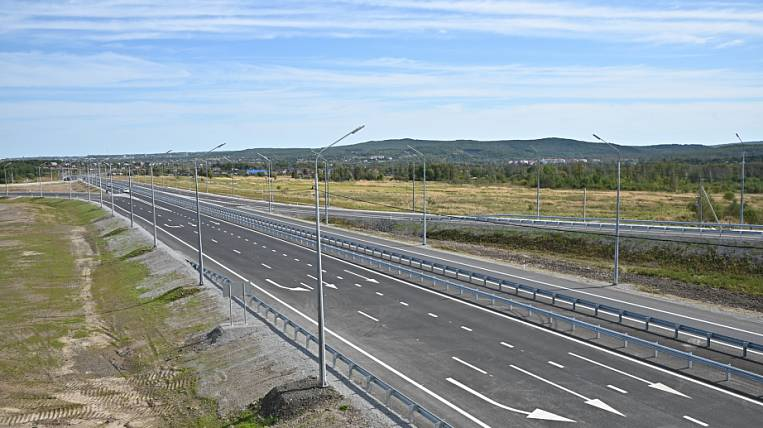 A new autobahn opened in the Khabarovsk Territory