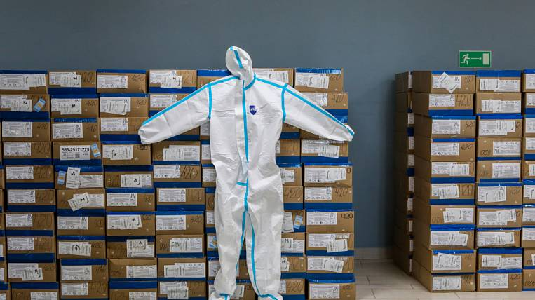 Primorye received another batch of protective equipment for doctors