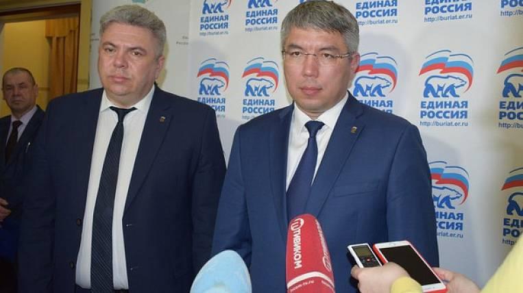 "The head of Buryatia headed the regional branch of ""United Russia"""