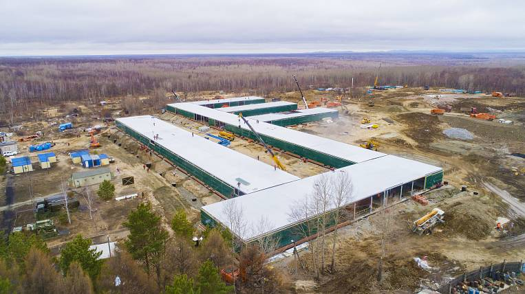 Hospital for patients with COVID-19 is 50% ready in the Khabarovsk Territory
