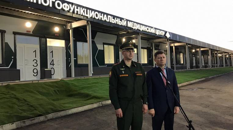 The military surrendered a hospital for patients with COVID-19 in the Khabarovsk Territory