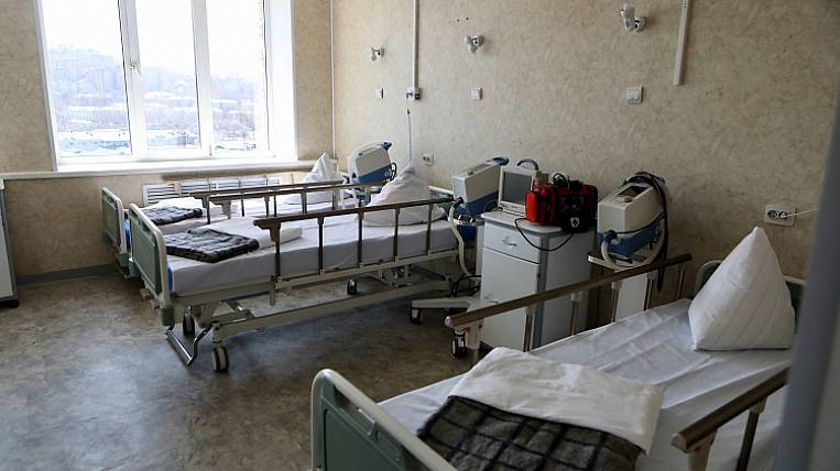 Almost all beds for coronavirus patients are occupied in Russia