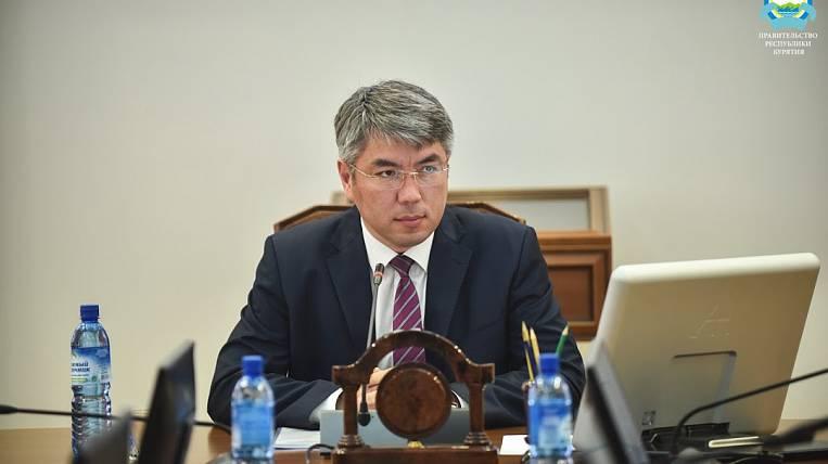 The head of Buryatia passed the test for coronavirus