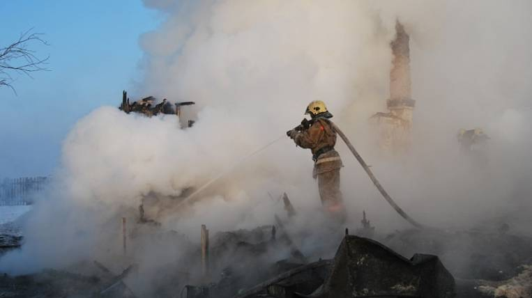 A three-year-old child died in a fire in Transbaikalia