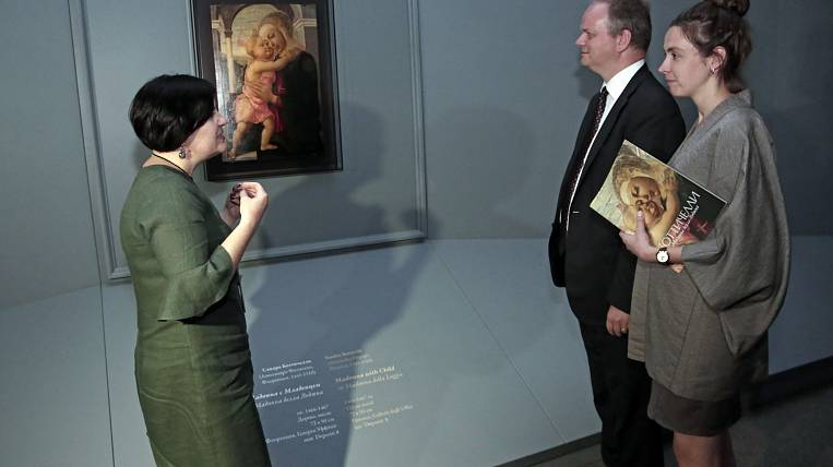 More than 1,5 thousand people watched Madonna Botticelli in Primorye
