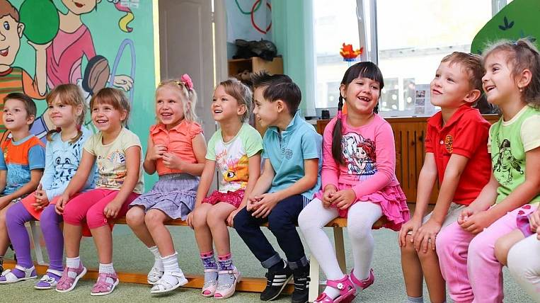 In the Amur region built a kindergarten for the national project