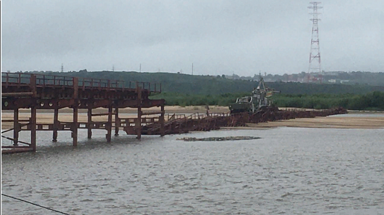 The check after the collapse of the bridge at the military exercises began in the Jewish Autonomous Region