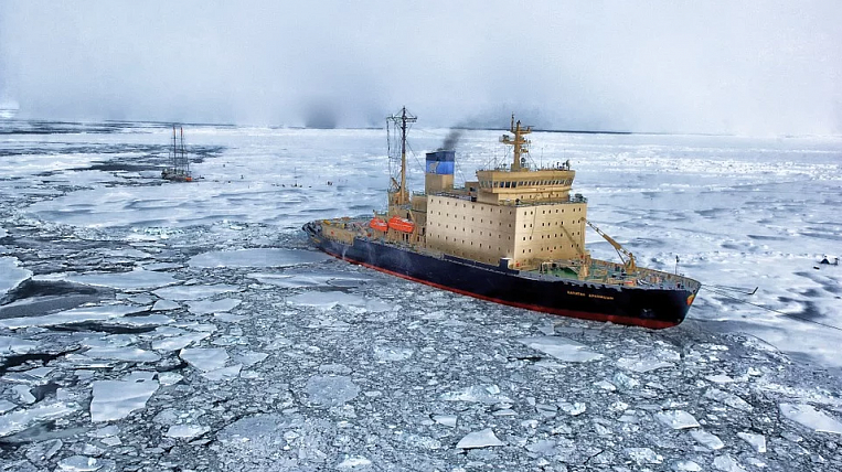 The development of the Northern Sea Route will be linked to mineral projects in the Arctic