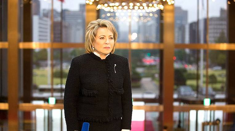 Matvienko proposed to reduce the tax burden on business