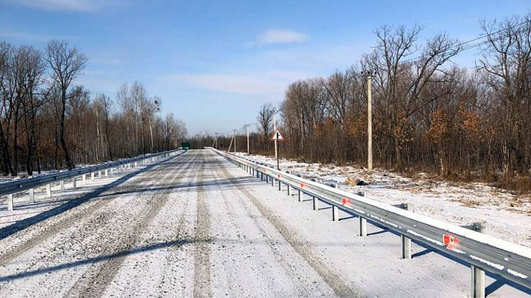 """The first road to the """"Far-hectares"""" surrendered in the Khabarovsk Territory"""
