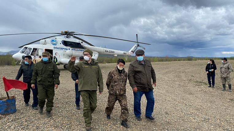 Because of the flood, they began to resettle the village in Yakutia