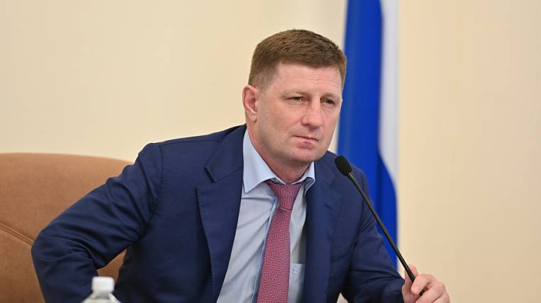 The head of the Khabarovsk Territory was detained on suspicion of organizing murders