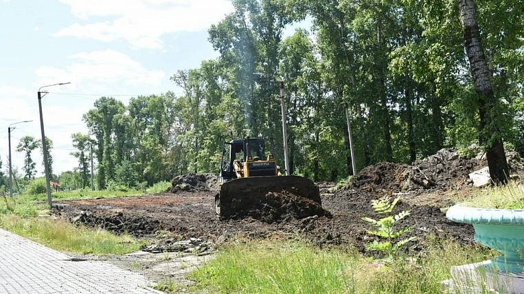 The city park will be improved on the national project in the Amur region