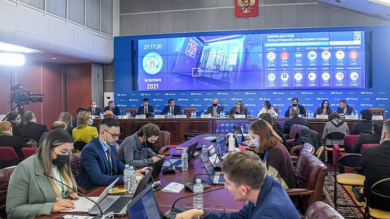 United Russia wins the elections to the State Duma in Priangarye