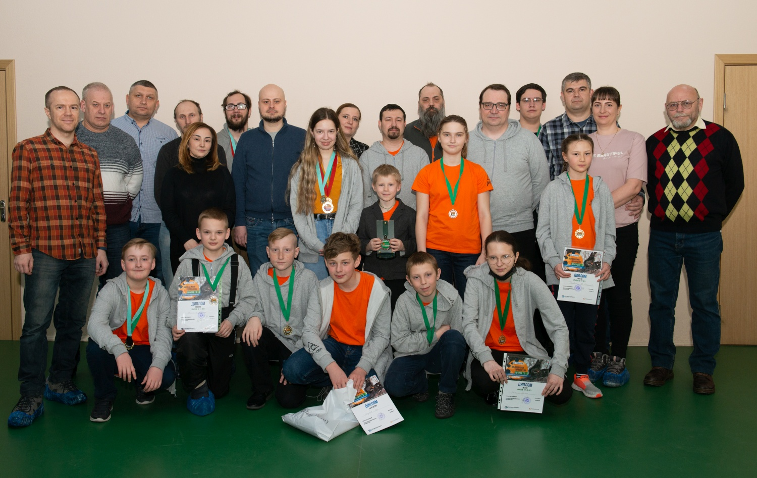 Magadan national go team became the leader of the DFO championship