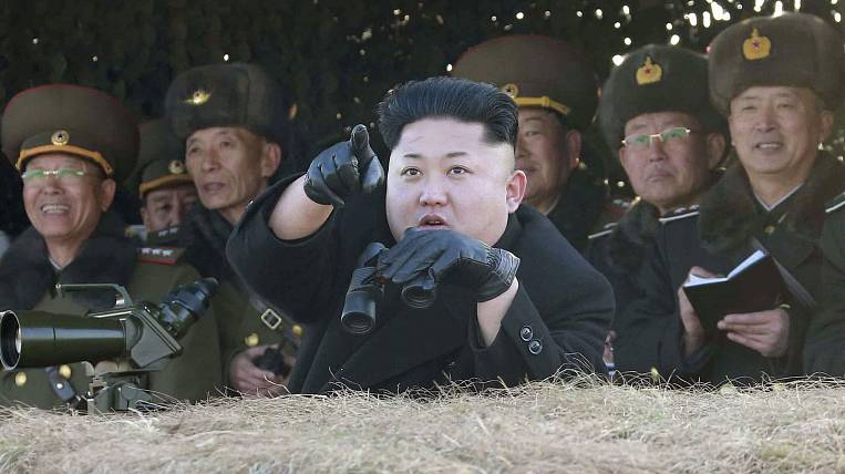 On the plans for a new nuclear weapon test, Kim Jong Eun once again stated