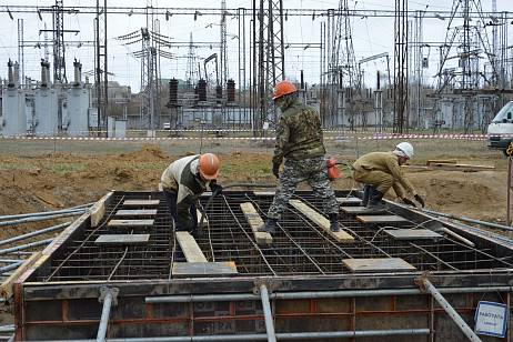 A large-scale reconstruction of a substation in Primorye is being carried out by the DRSK