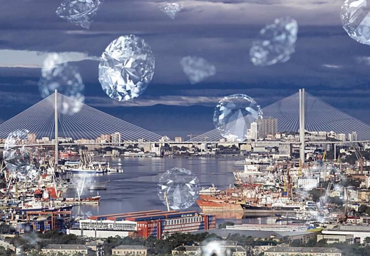Vladivostok in diamonds