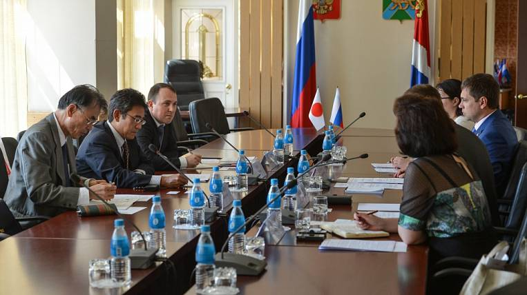 Primorye and Nomura Soken Research Institute discussed business cooperation issues