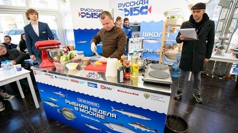 """""""Fish Week"""" will be held in Moscow by fishermen of Sakhalin and Kamchatka"""