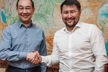 The head of the republic congratulated the new mayor of Yakutsk on his victory in the elections