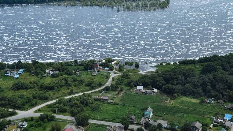In the Amur region, 21 settlements are flooded and water arrives