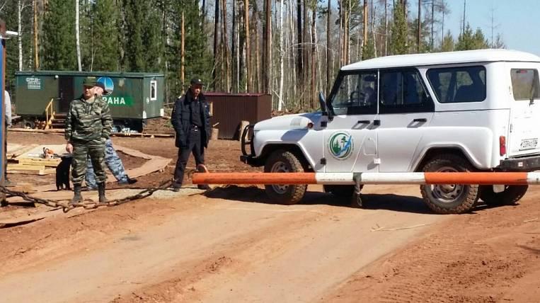 A special fire regime was introduced in the Irkutsk region