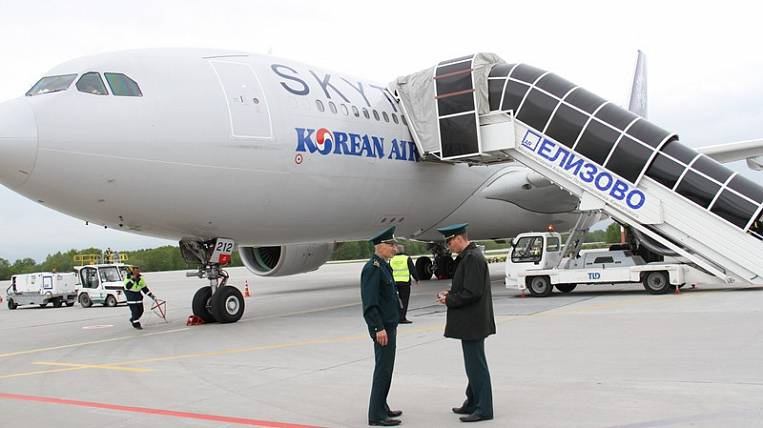 For the first time in many years, a charter from Seoul landed on Kamchatka