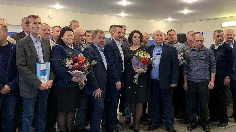 The best employees of the East Port received thanks from the Ministry of Transport