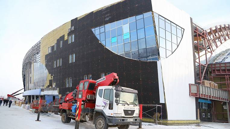 The center for hockey in Irkutsk will be completed in the spring of 2020