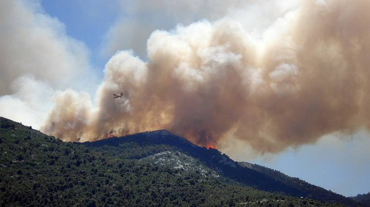 Emergency mode due to forest fires introduced in two regions of Yakutia