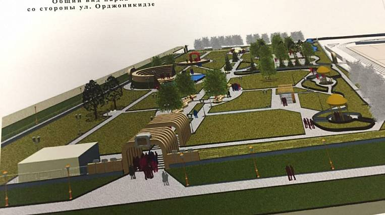 The central resting place of Shimanovsk is being reconstructed according to the national project