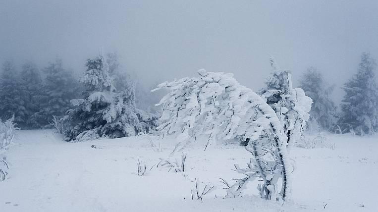 An emergency warning was announced in the Magadan region