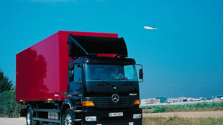 Trucks weighing more than 12 tons will bring Sakhalin prices up