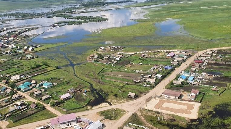 In Transbaikalia, they are in a hurry to provide housing for flooded people before the onset of cold weather