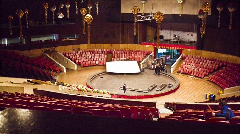 Repair of the circus in Vladivostok will take a year and will cost 1 billion rubles