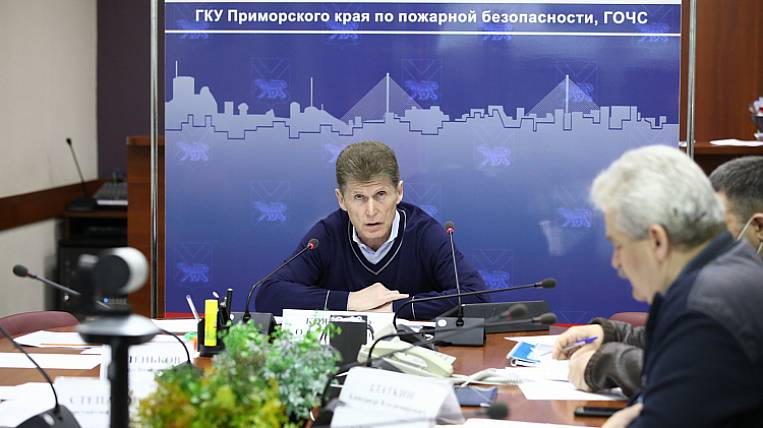 All deputy heads of Primorye received reprimands