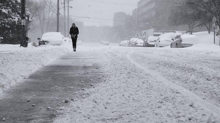 Strong wind and blizzard will fall on Sakhalin region