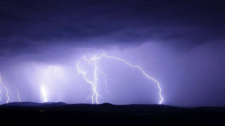 Showers with thunderstorms will come to the Jewish Autonomous Region