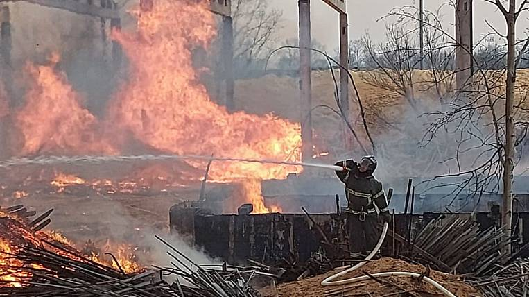 Firefighters are trying to put out a fire in the Jewish Autonomous Region for more than 17 hours
