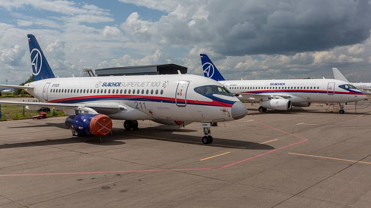 Sukhoi Superjet 100 may be waiting for rebranding