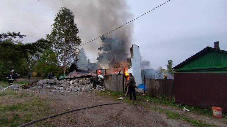 A man died in a gas explosion in the EAO