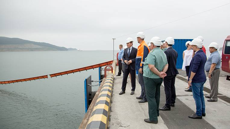 The new section of WFP Vostochny complies with the customs control