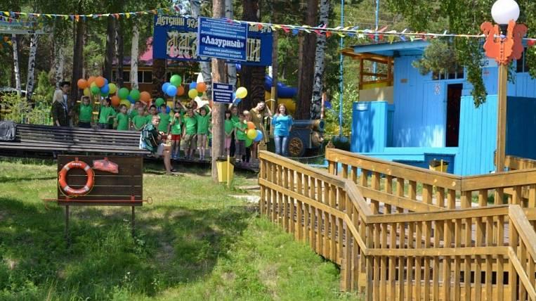 Opening of children's camps postponed in Angara