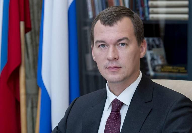 Mikhail Degtyarev: Khabarovsk Territory will use its advantages