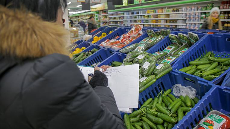 OFAS checked prices for vegetables in retail chains of Primorye