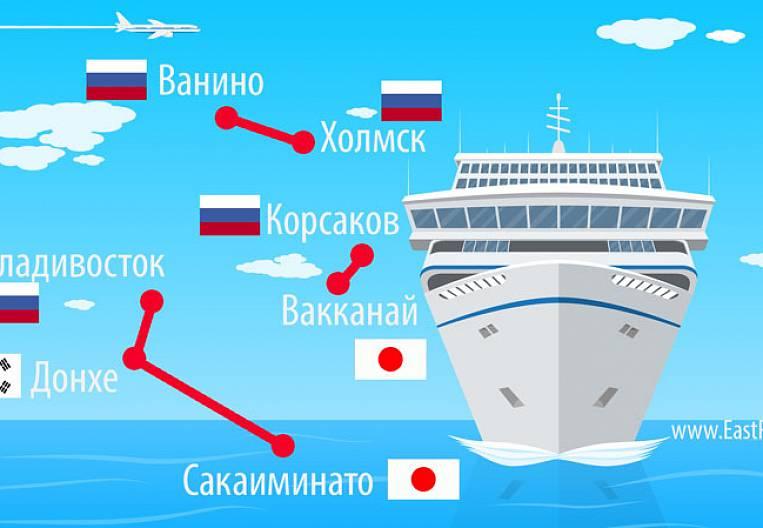 Ferries in the Far East do not wait