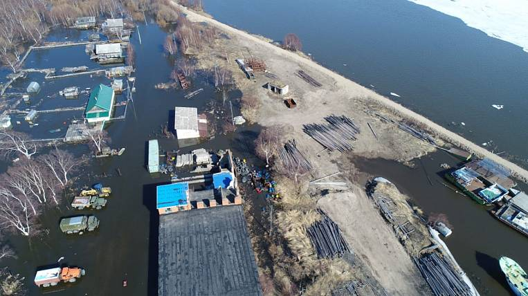 There are 5 settlements of the Khabarovsk Territory in the flood zone